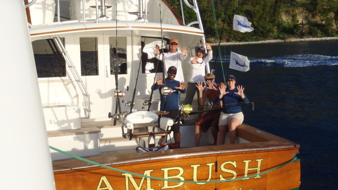 10 Blue Marlin for Ambush