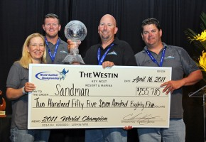 Sandman Wins 2011 World Sailfish