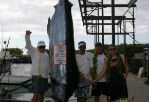 Kona the undebatable winner of Blue Marlin World Cup!