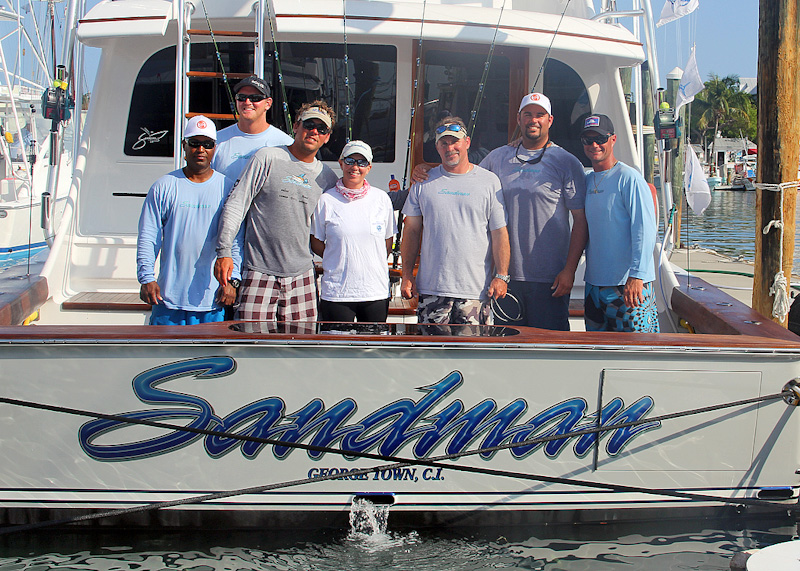 Sandman Wins World Sailfish – Again!