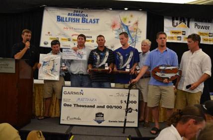 Mattanza wins the Billfish Blast