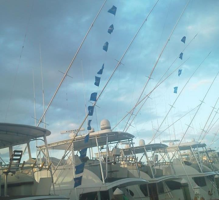Flags Are Flying off Oregon Inlet