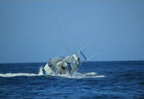 Boat Sinks While Fighting a Marlin