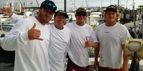 The Guys with Capt. Chip Van Mols and Ryan O'Halloran - Kona, HI