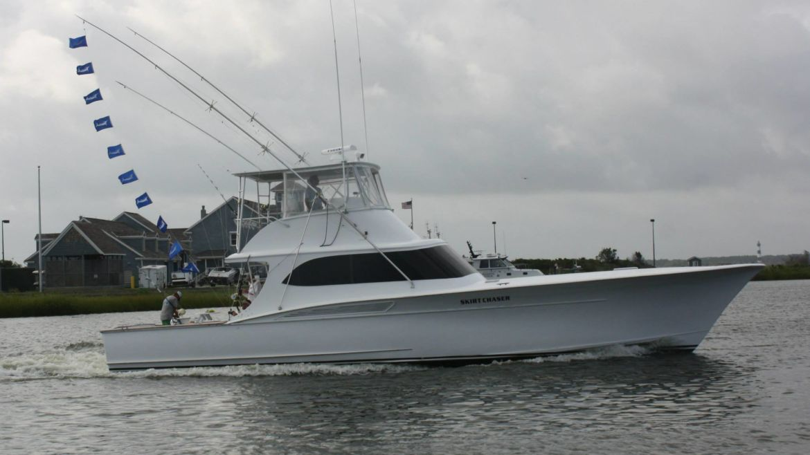 White Marlin Party off Oregon Inlet