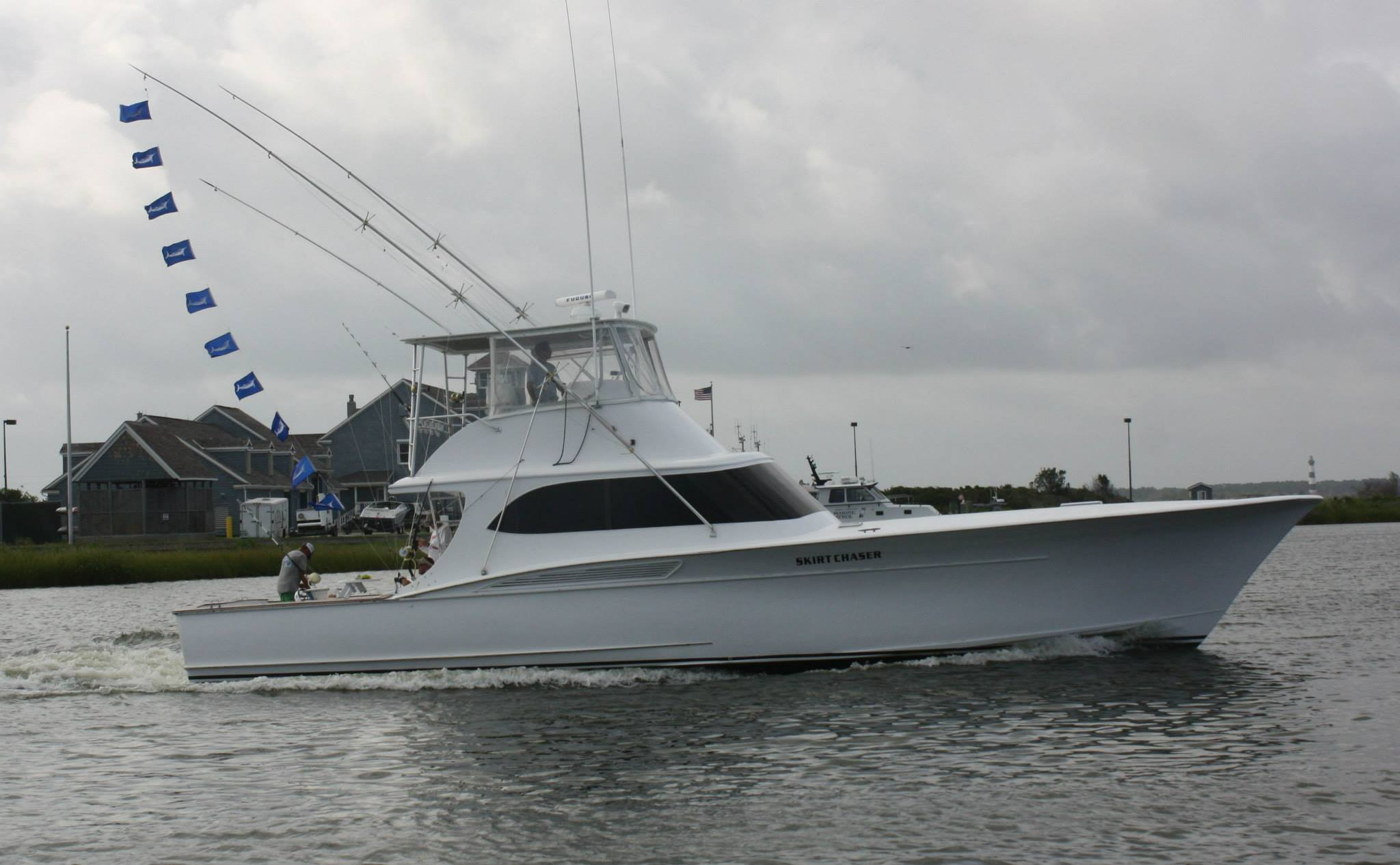 White marlin party off oregon inlet bloodydecks for Oregon inlet fishing center