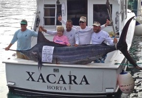 New Women's Blue Marlin Record