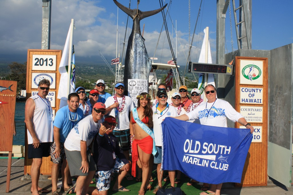The 2013 HIBT Governor's Trophy for first place went to Old South Marlin Club East Coast 1