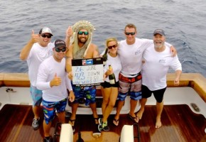 Carol Libby Gets Blue Marlin Record