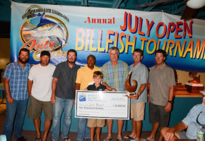 Wave Paver Wins July Open