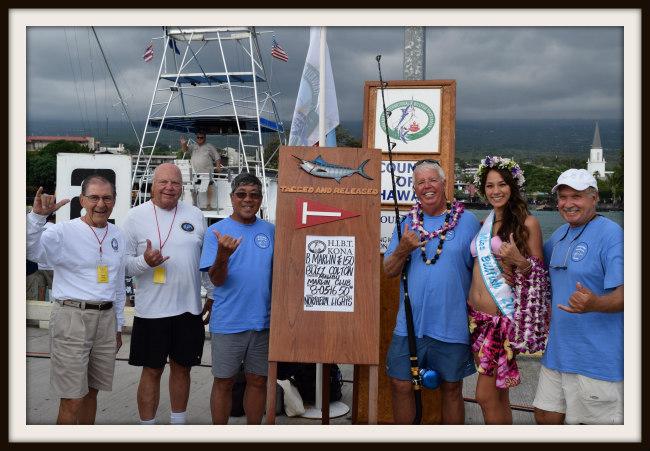 Malibu Marlin Club tag