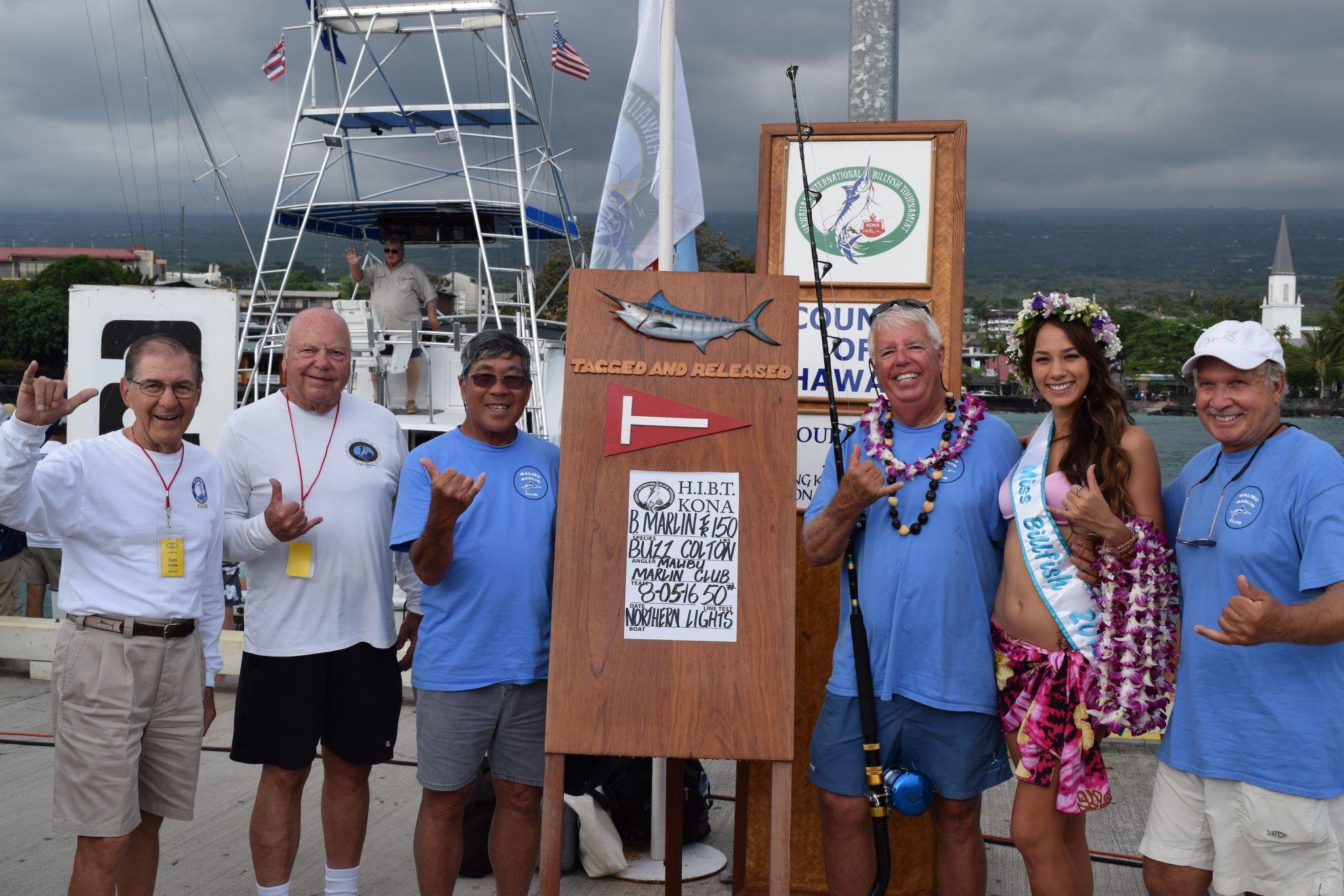 Malibu Marlin Club Wins HIBT