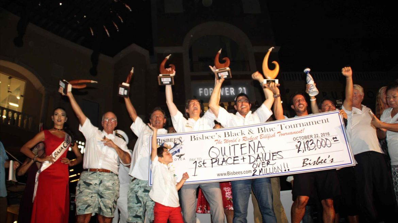 Quitena Wins Black & Blue