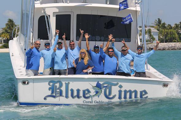 Blue Time Wins World Sailfish