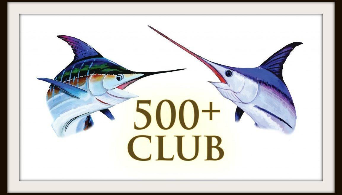January 500+ Club Roundup
