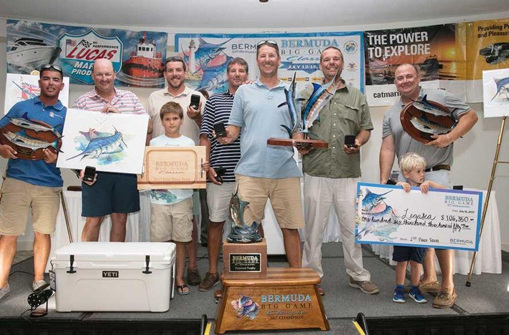 Legasea Wins Bermuda Big Game Classic